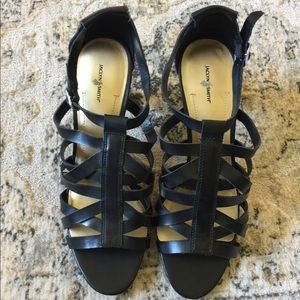 Jaclyn Smith strappy heels